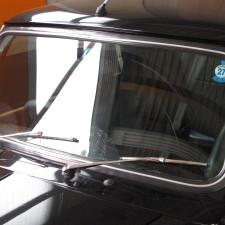 ローバーミニ フロントガラスの傷修正