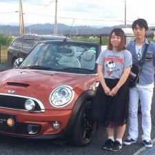 埼玉県児玉郡上里町にお住まいのS様へBMWミニクーパーSコンバーチブルをご納車致しました!