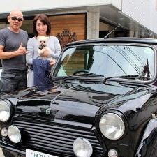 横浜市にお住まいのF様へローバーミニクーパーBSCC LTDをご納車致しました!