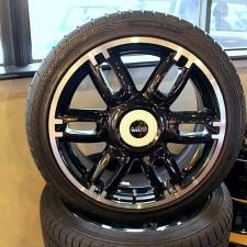 BMWミニ 純正17インチホイール&タイヤ4本セット【Used parts】