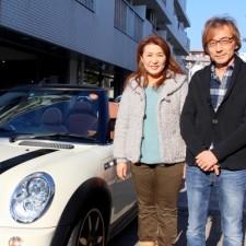 鎌倉市にお住まいのM様へBMWミニクーパーSコンバーチブルサイドウォークをご納車致しました!
