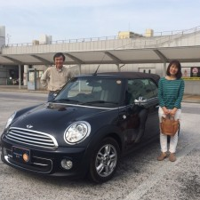 石岡市にお住まいのO様へBMWミニクーパーコンバーチブルをご納車致しました!