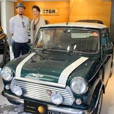 渋谷区にお住まいのK様へローバーミニクーパーをご納車致しました!