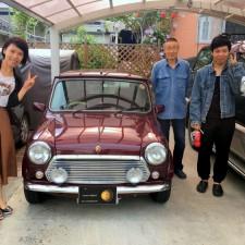 盛岡市にお住まいのM様へ、ローバーミニ40th Anniversary LTDをご納車致しました!