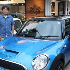 狛江市にお住まいのS様へBMWミニクーパーSをご納車致しました!