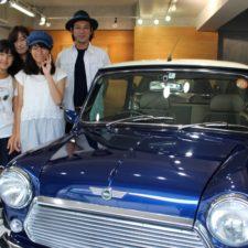 平塚市にお住まいのI様へローバーミニメイフェアをご納車致しました!