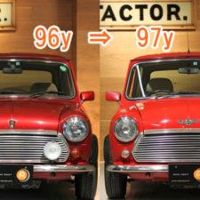 ローバーミニ最終モデルの良さとは!?97年モデルと96年モデルを徹底比較!