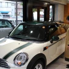 横浜市にお住いのA様にBMWミニクーパーグリーンパークをご納車致しました!