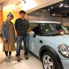 川崎市にお住まいのS様へBMWミニクーパークラブマンをご納車致しました!