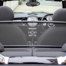 BMWミニコンバーチブル(R57)専用ウィンドディフレクター【UsedParts】